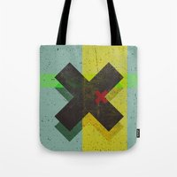 cross Tote Bags featuring CROSS by Metron