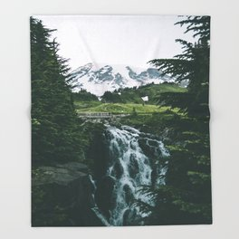 Myrtle Falls Throw Blanket