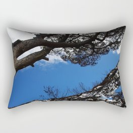 Leaning Tree Rectangular Pillow