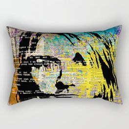Nirvana art on dictionary Rectangular Pillow