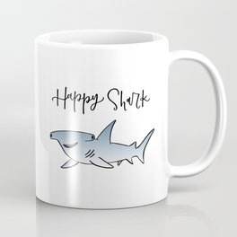 Happy Shark - Custom Coffee Mug