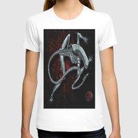 xenomorph T-shirts featuring Darrell Merrill Nerd Artist Xenomorph by Nerd Artist DM