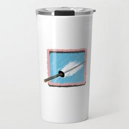 katana style Travel Mug