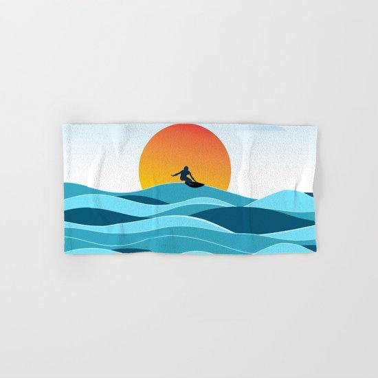 Surfing 1 Hand & Bath Towel