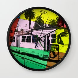 Melbourne Tram Wall Clock
