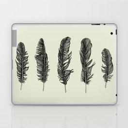 Lucky Five Feathers Laptop & iPad Skin