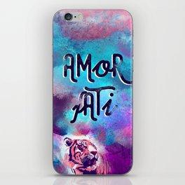 Amor fati iPhone Skin