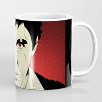 scarface Mugs featuring Scarface by Renan Lacerda
