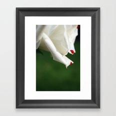 Bleeding Rose Framed Art Print