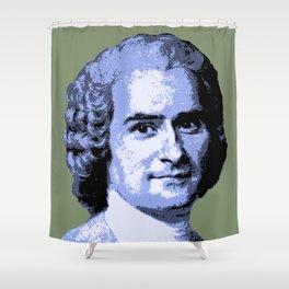 Jean-Jacques Rousseau Shower Curtain