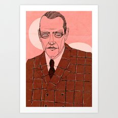 Nucky Thompson Art Print