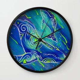 balene boreali Wall Clock
