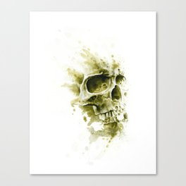 Sandy Skull Canvas Print