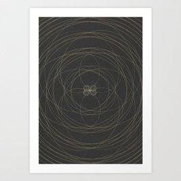 Altarpiece IV x Sol - Self (Polarity, Quaternity, Infinity) Art Print