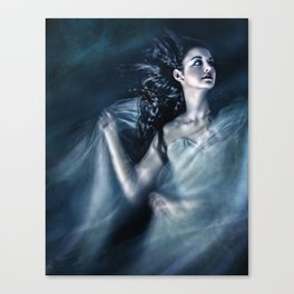 The Wind Was Her Element Canvas Print