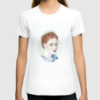 redhead T-shirts featuring Redhead by Julia Tyroller