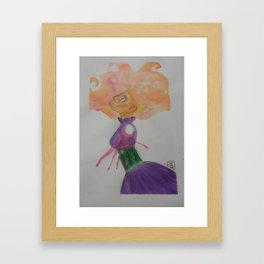 Cut Out Framed Art Print