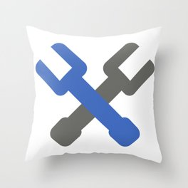 wrench Throw Pillow