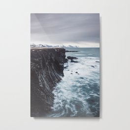The Edge - Landscape and Nature Photography Metal Print