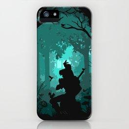 Ocarina in the Woods iPhone Case