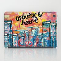 architect iPad Cases featuring Architect Heart by Anwar B