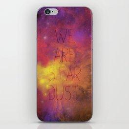 Nebula (Text) iPhone Skin