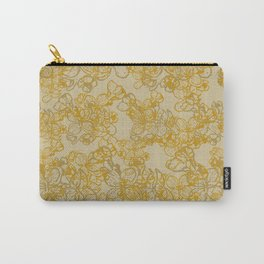 Tangled Flowers Carry-All Pouch