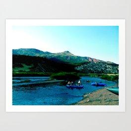 Colorado River, 2011 Art Print