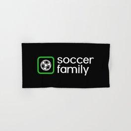 Soccer Family (Green) Hand & Bath Towel