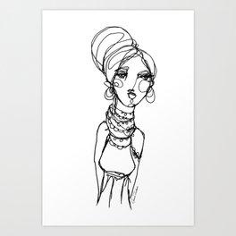 LINA {Gypsy} Art Print