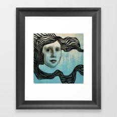 #43 Wave Framed Art Print