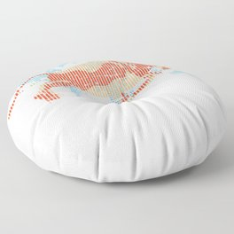 American Bull Index Capitalism Floor Pillow