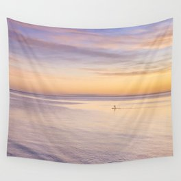 Sunset Paddle Wall Tapestry
