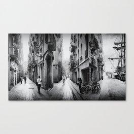 Im/possible Barcelona Canvas Print
