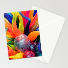 Rainbow of colors Stationery Cards