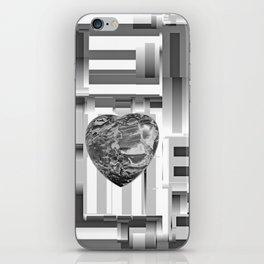 Jasper Heart in Vacancy iPhone Skin