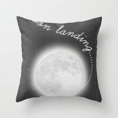 Moon Landing! Throw Pillow