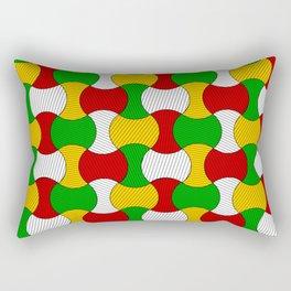 Ankara wax print Rectangular Pillow