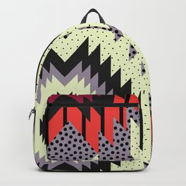 Ethnic fun with dots Backpack