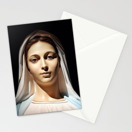 Our Lady of Tihaljina (Our Lady of Grace): In the Sun Light Stationery Cards
