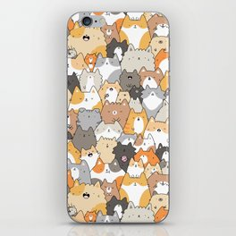 Cats, Kitties and a Spy iPhone Skin