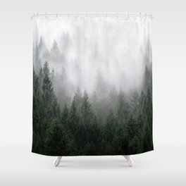 Home Is A Feeling Shower Curtain