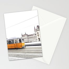A Tram in Budapest Stationery Cards