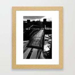 Canal Lachine Framed Art Print