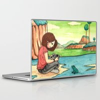 dbz Laptop & iPad Skins featuring Savousepate on Namek by Savousepate