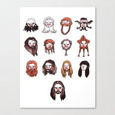Just Dwarves Canvas Print