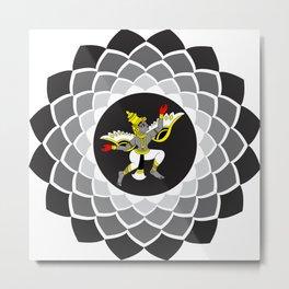 Guardian Angel - YOGA - Yaksha / Yakshini Metal Print