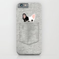 Pocket French Bulldog - Pied iPhone 6 Slim Case