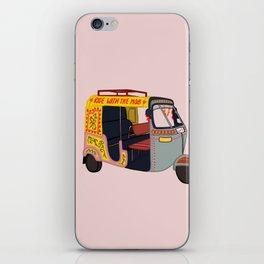 Ride with the Mob iPhone Skin