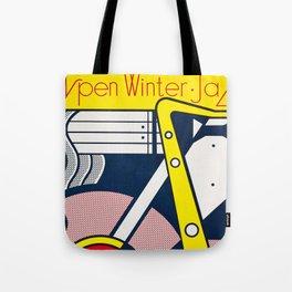 Aspen Winter Jazz Festival - Vintage 1967 Poster Tote Bag